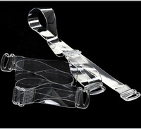 High Quality TPU Material Lingerie Accessories Clear Clasp HooK Fullness Women Invisible Simple Transparent Bra Strap
