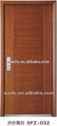 South American style steel wooden armor door