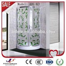 in fibra di vetro acrilico 2 lati cabina doccia