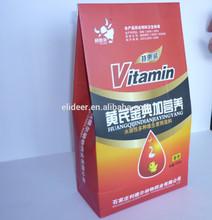 frangos de corte de medicina vitaminas para ganho de peso