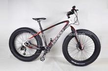 First Look carbon fat bike frames,T700 carbon Fat tire bike,2014 fat bike