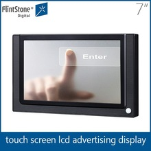 Marketing advertise 7 touch screen lcd monitor, touch screen display