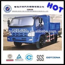 camión volcado foton forland 4x2 volquete de unidad de camiones
