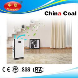 China coal group Solar panel Air Purifier with air quality sensor