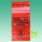 Medical Biohazard Bag (Flat bag type or Plastic drawstring bag type), Autoclavable Disposal Bag, Hazardous Waste Bag