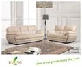 Sofá branco Design para escritório sofá de canto de couro cama