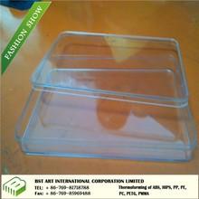 plastic transparent cover, airline plastic food container cover