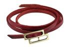 Fashion double bow pu leather scraf ring firstlayer leather bracelet YJ-BR0034