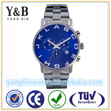 Hot fashion quartz wrist stainless steel vogue watch for men