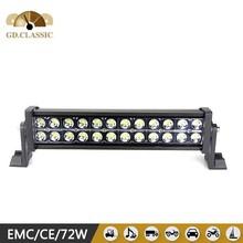 hot sxs led light bar 72w 12volt led bar light