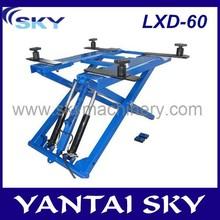 China Supplier LDX-60 auto scissor lift/scissor lift/mobile car lift