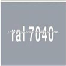 Epoxy/Polyester type RAL7040 Window grey Powder Coating