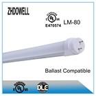 18W Led Tube Light UL Electronics Ballast Compatible Fixture Light