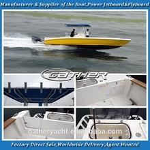 Gather 32ft fiberglass center console boat,fiberglass open boat