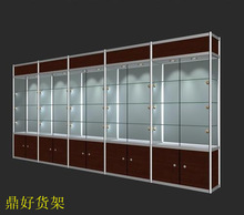 used tempered glass showcase