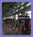 Proeminente pedal de quatro rodas da bicicleta