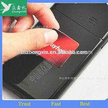 Magic screen cleaner,handset screen cleaner,microfiber phone cleaner sticker