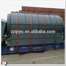 Waste tyre to oil pyrolysis machine