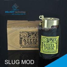 Promotion activity! New product steel punk slug mod clone&slug mod&aluminium slug, made in china alibaba