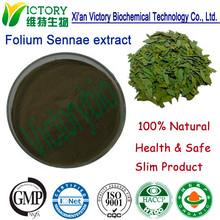 Health care product Cassia angustifolia leaves/Folium Sennae extract