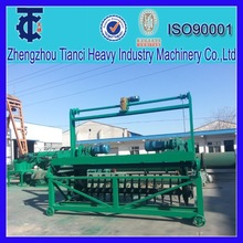 high pressure poultry manure compost machine with high capacity
