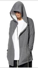 Men Fashion Sweatshirt Hoodie Hooded Cardigan Outerwear