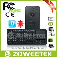 Learning IR Remote Control Wireless Keyboard / Bluetooth Touchpad Wireless Keyboard