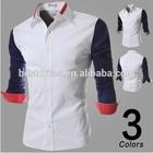 2015 latest Wholesale checkout fancy Design Dress Shirt tailored slim fit trendy man's shirts casual men clothing plus size
