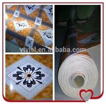1.3mm fireproof and anti slip linoleum tiles/linoleum flooring made in china