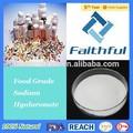 De calidad alimentaria de ácido hialuronic/de ácido hialurónico sal de sodio