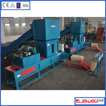 Wood sawdust compressor / rice husk compactor