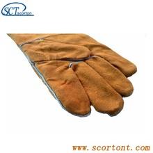 SG02 heat-proof spatter-proof best welding gloves for welding