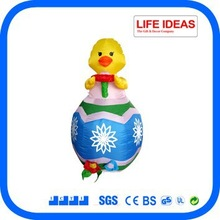 Easter decoration 4 feet inflatable duck
