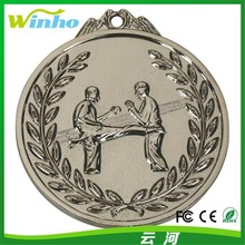 Winho Promotional Plating Nickle Zinc Alloy Medal