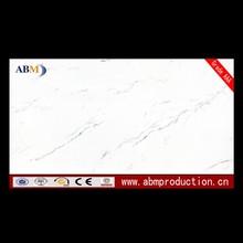 Super strong glossy glazed white porcelain tile 600x1200 for high grade designs