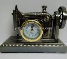 YL8030 Decorative Sewing Machine Shape Alarm Clock