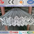 China prime quality stainless steel sus304 angle iron size