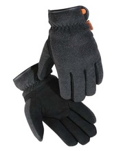 Ultra-soft Suede Deerskin Palm/fleece Back Thermal Lined Gloves