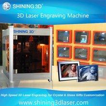 3d crystal portable laser engraver/SPARK II