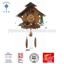 Yantai Polaris plastic modern antique kassel Cuckoo clock large decorative wall clocks