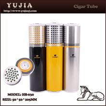 Popular Cigar Tube Cigar Case Cigar Humidor With Humidifier Hygrometer Wholesale