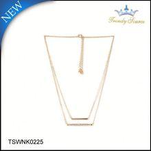 Последние модный стиль плетеный ожерелье шнуры