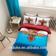 One Piece Series Bedding Set Children Reactive Printed Cotton Bedline
