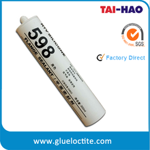 High temperature black rtv silicone sealant for internal combustion engine parts
