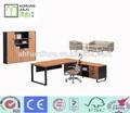 luxo em madeira mesa de escritório mesa de escritório altura regulável com bloqueio da gaveta