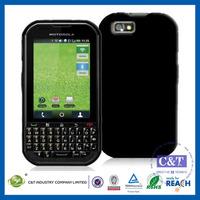 C&T TPU Silicone Skin Gel Cover Case For Motorola Titanium i1x