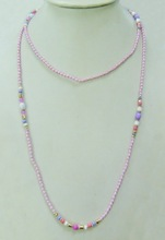 beaded necklace recommended by the buyers ,fashion elegant necklace ,4 colors can choose