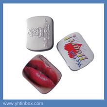 custom printed small metal candy mint tin