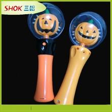 Holiday gift flashing pumpkin stick