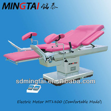 Surgical apparatus electric gynecology delivery table